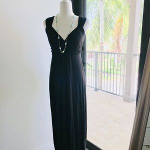 Lavish by Heidi Klum Black Maternity Dress